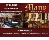Manyantiques compra muebles antiguos modernos y objetos