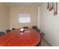 Sala para reuniones ejecutivas en renta