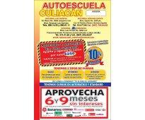 Hoy ultimo dia de descuentos en autoescuela culiacan