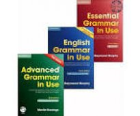 Pack english grammar in use -3 books + cds 4º ed.