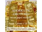 Argentina - Ahorre en Oro Puro