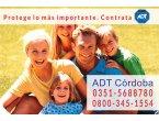 Contratar ADT Alarmas en Río Segundo 0351-5688780  / 0$ Instalación