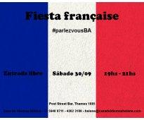 Fiesta francesa en palermo