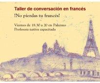 ¡no pierdas tu francés! charlá con una nativa