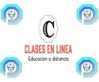 Clases en línea  matemáticas, física, química todos los niveles