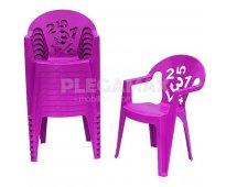 ¡sillas infantiles de colores al mejor precio!