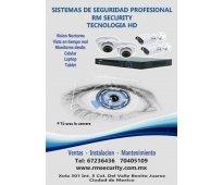 Sistema de videovigilancia cctv para casa u oficina rm security