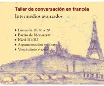 Conversación en francés monserrat con profesora nativa