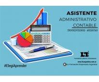 ASISTENTE ADMINISTRATIVO CONTABLE (Entrenamiento Ejecutivo)