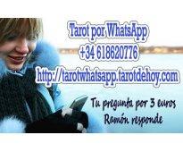Tarot x whatsapp 3 euros haz tu pregunta 618620776