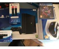 Sony ps4 y playstation vr con 7 juegos $150 navidad ventas con garantía
