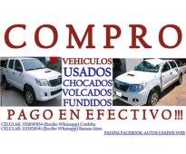 Compro autos camionetas 4x4 pick up ex taxi pago al contado!!