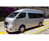 Toyota haice 15 pasajeros