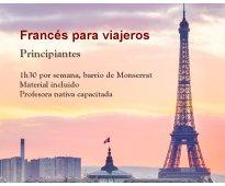 Francés para viajeros grupal monserrat con profesora nativa