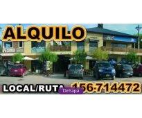 Funes: dueño,financio!! locales centro sobre ruta