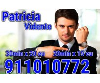 Patricia Vidente Profesional