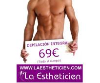 Depilación Masculina en La Estheticien, lo mejor de Madrid