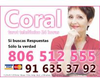 Tarot por teléfono con Coral Molina