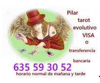 Tarot evolutivo con Pilar 635 59 30 52  ingreso bancario-