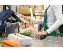 Se precisan cajeros,reponedores,dependientes,mozos en supermercados