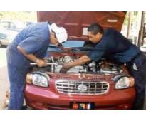 Importante franquicia de talleres precisan mecánicos