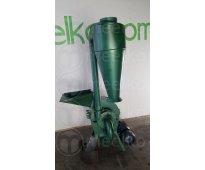 Molino triturador de biomasa a martillo electrico 360 kg - mkh198b