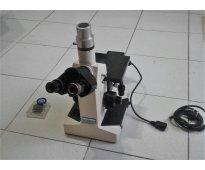 Microscopio trinocular
