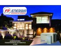 Grupos Electrógenos. Venta, alquiler, reparación, mantenimiento.