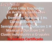 Cursos de 3 Hs a Domicilio con Certificado