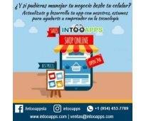 Desarrolle su propia app móvil para su negocio