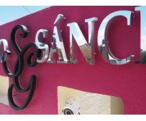 Letras en Calle Gurruchaga en Canning