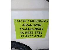 FLETES Y MUDANZAS CAPITAL TODOS LOS DIAS 45543206