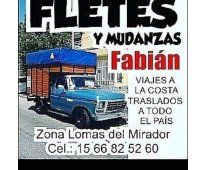 Fletes Lomas Del Mirador 24 hs