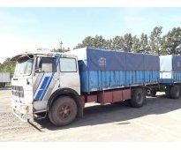 FIAT 619-85c/caja 13 acoplado Montenegro 93-8.60 m BV