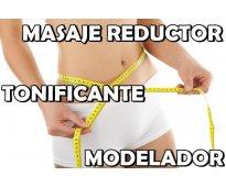 MASAJE REDUCTOR Y MODELADOR