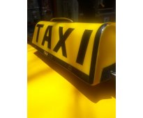 Transfiero chapa de taxi