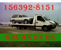 15-63928151 Grúas Camilla Auxilio Mecánico 24HS Traslados y Acarreos