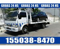 15-50388470 Grúas Camilla Auxilio Mecánico 24HS Traslados