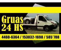 15-30321698 Grúas Plancha Remolques y Traslados las 24HS