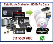 VHS Video a Pen Drive x Hora de Video.
