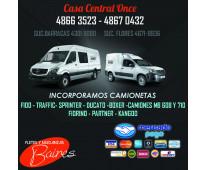 Agencia Incorpora Camionetas URGENTE
