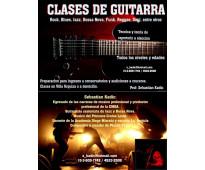 Clases de Guitarra todos los niveles