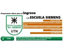 CURSO DE INGRESO A LA ESCUELA SIEMENS 2019  PREPARO ALUMNOS PARA INGRESAR A LA E...