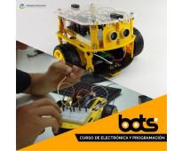 Curso a distancia + kit arduino programación y electrónica