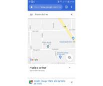 Terreno Pueblo Esther 2400 m2