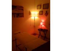 Sesiones de masajes integrales privados.