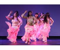 Danzas árabes en Colegiales