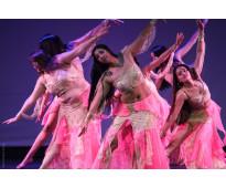 Danzas árabes en Nuñez
