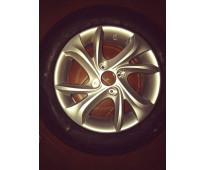 rueda de citroen c3  nueva