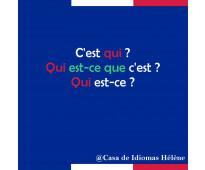 Clases de conversación en francés personalizadas profe nativa